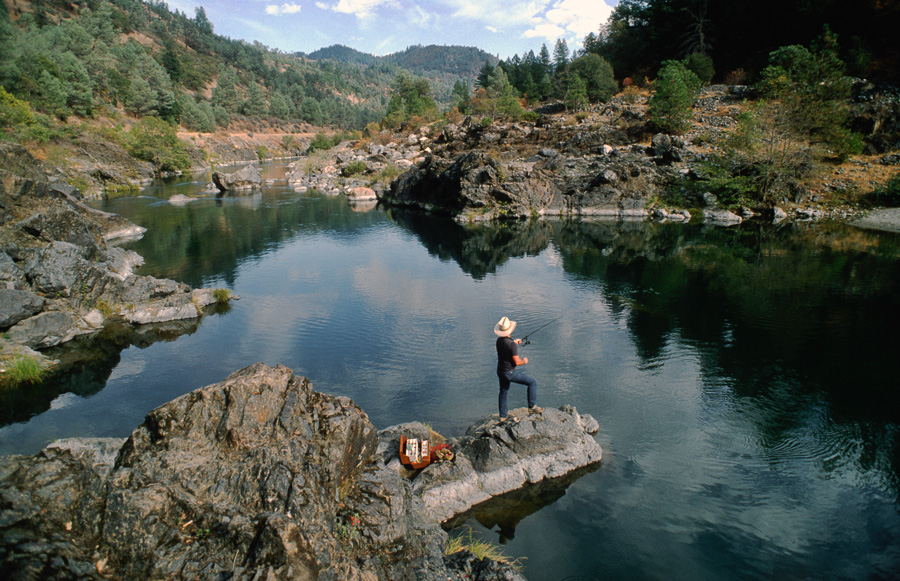 Fishing on the Klamath River