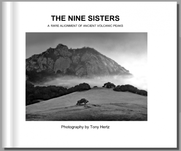 The nine sisters photo book by tony hertz photography tony hertz black and white landscape and color photography